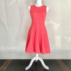 Halston Heritage pink sleeveless dress